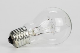 picture of incandescent light bulbs