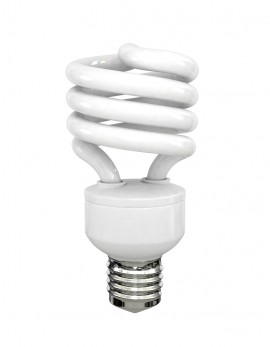 picture of compact fluorescent bulbs (CFLs)