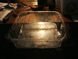 picture of plastic bird suet containers