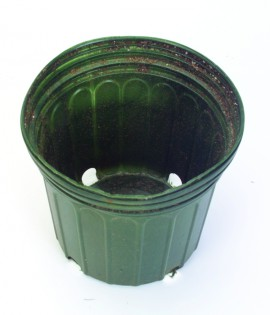 picture of black flower pot liners
